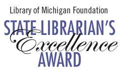 State Librarian's Excellence Award logo