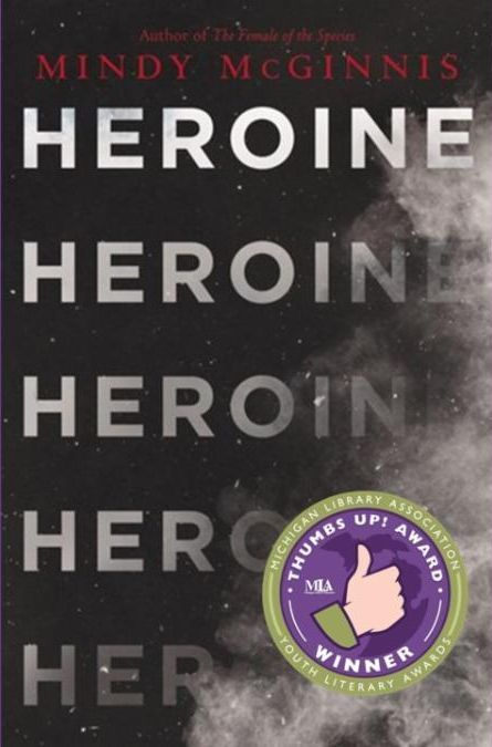 Heroine by Mindy McGinnis book cover