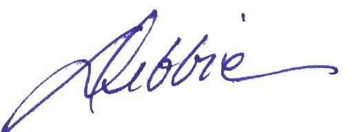 Debbie Signatiure