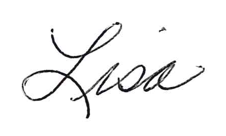 Lisa first name signature