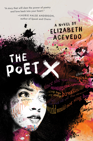 The Poet X by Elizabeth Acevedo book cover